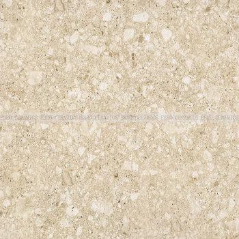 60x60 Beige Color Non Slip Terrazzo Porcelain Tiles For Bedroom Indoor Outdoor Flooring