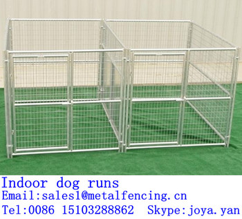 Factory Supplying Large Animal Runs Metal Panel Dog Runs Large Dog ...
