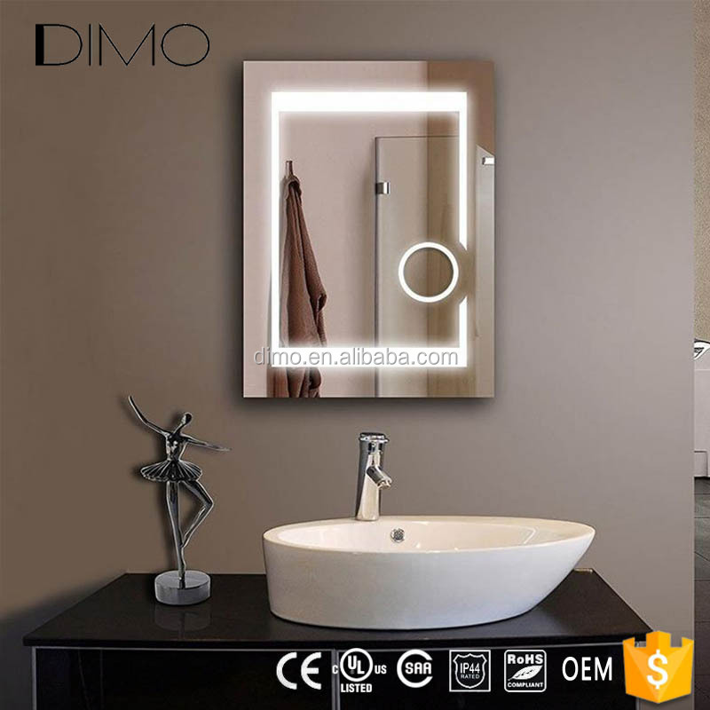 2018 Innovative Product Fogless Bathroom Led Mirror Illuminated Mirror With Magnifier Buy