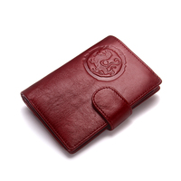 2019 New Personalized Genuine Leather Travel Wallet Passport Holder