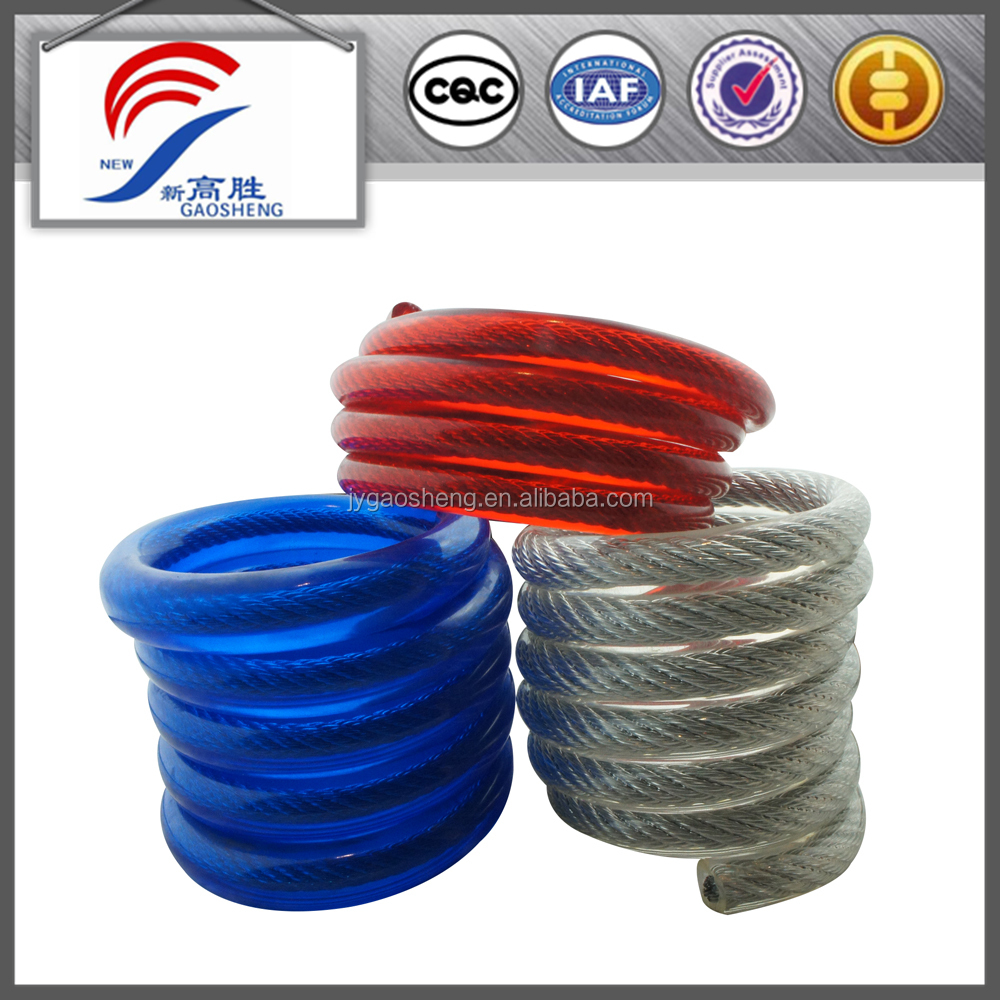 wire rope using spring steel material