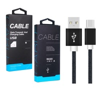 Typc C Cable 3FT Nylon Braided USB C Cable Fast Charge For Samsung S9/S8/Note 9/Pixel/LG V30 G6 G5/iPad Pro/OnePlus 5 3T