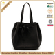 Hot sale fair trade style handbag imported korea leather soft women tote bag