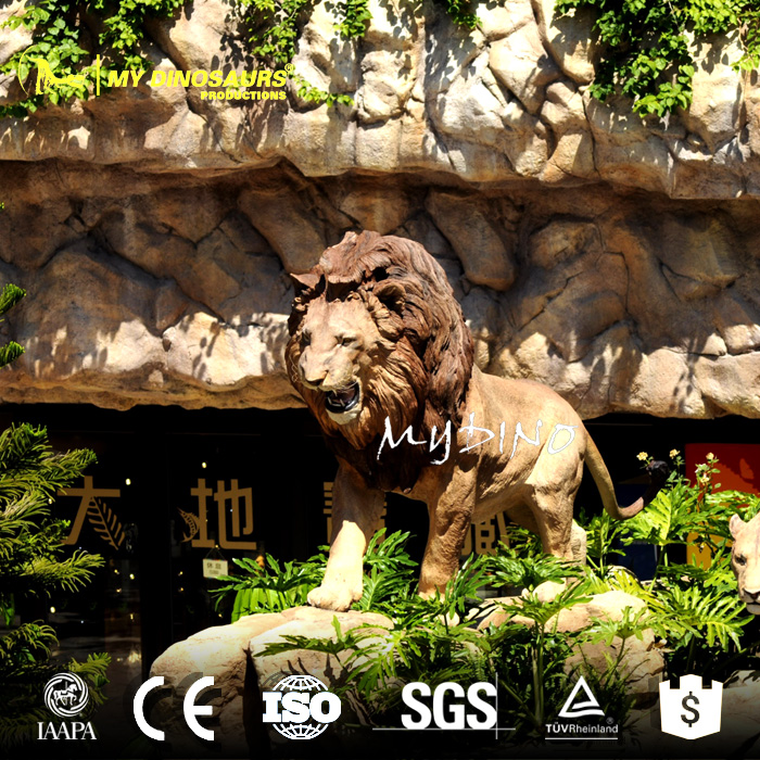 MY Dino-N1139 Large decorative tiger statue sculpture