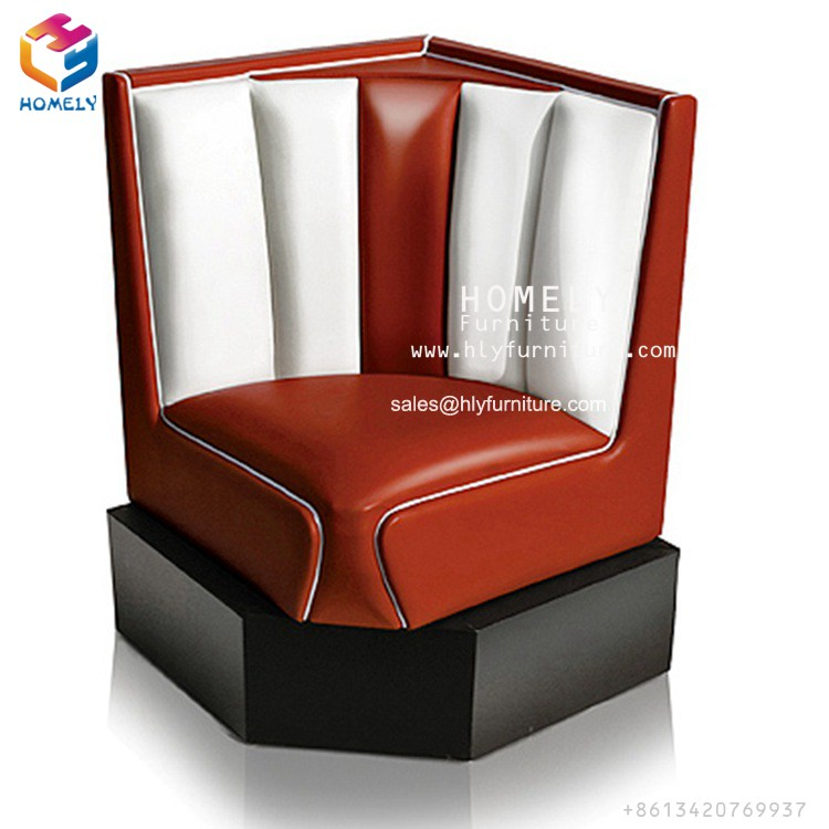 wholesale hot sale cheap fast food restaurant furniture booth seating