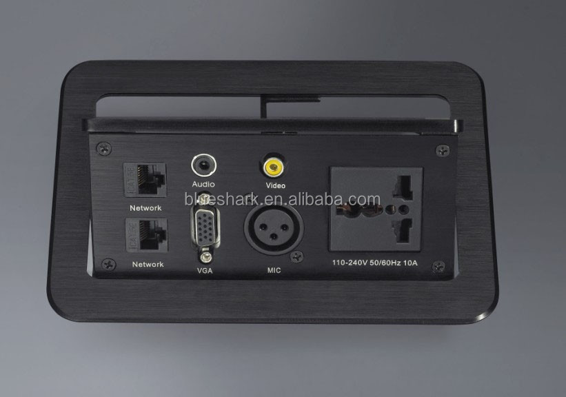 Office Furniture conference table socket deskto power modules with power outlets