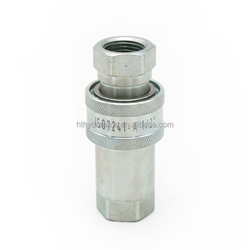 Manufacturer Hydraulic Quick Release Coupling Fitting