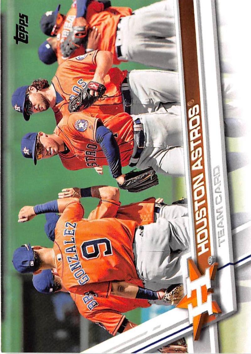 2017 Topps Baseball Series 1 #175 Houston Astros Astros