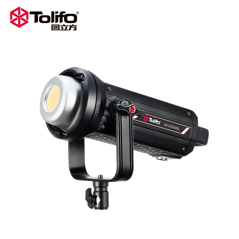 TOLIFO 2020 SK-D3000SL 300W High Power Daylight Bowens Studio Light COB LED Light for Outdoor Photography