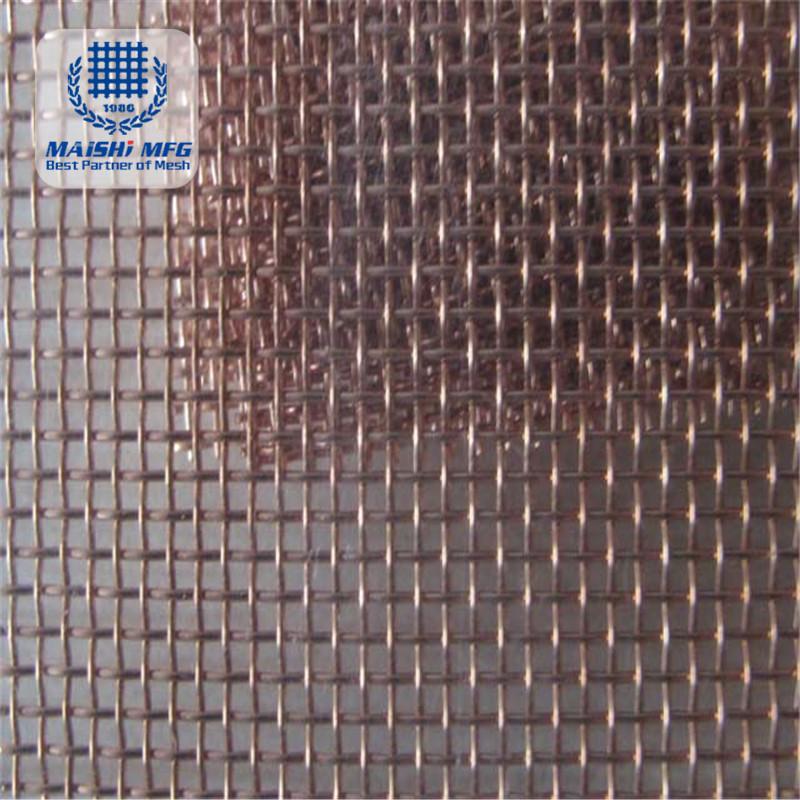 Bronze Copper Screen Wire Mesh