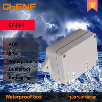 Outdoor Monitoring power supply junction box ABS plastic waterproof box with fixed ear