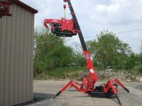 spider kran