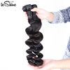 Natural Loose Wave Raw Cuticle Aligned Unprocessed Afro Hair Weft Direct Factory Wholesale