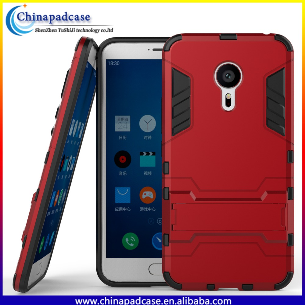 2016 Original hybrid armor shockProof protective hard mobile phone cover for Meizu MX5 Pro/ hybird TPU+PC case for MX5 Pro