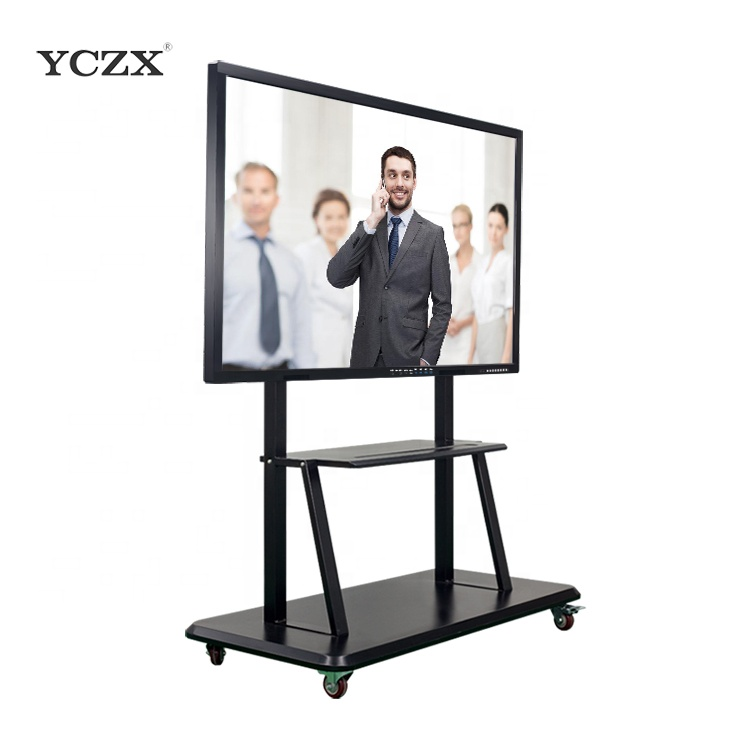 "70 ""staande school/classroom apparatuur interactieve touch screen pc LED display board"