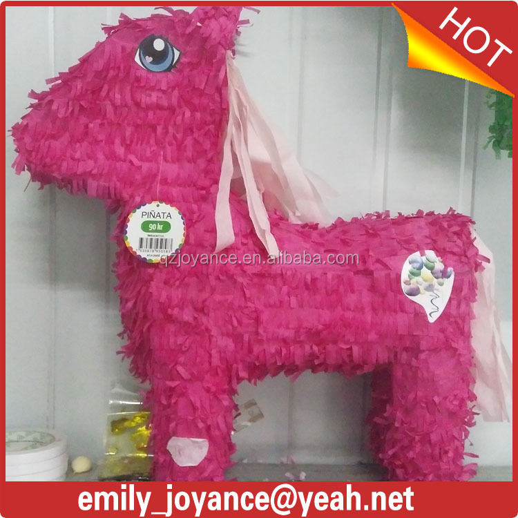 Colorful horse pinata for kids/adult