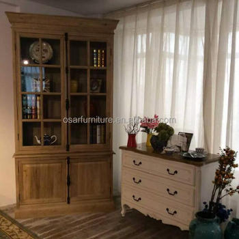 French Country Living Room Furniture Antique Wood Curio Cabinet - Buy Curio  Cabinet,Wood Curio Cabinet,Wood Glass Curio Cabinet Product on Alibaba.com