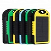 100% Full Charging by Sunlight Waterproof Solar Power Bank 10000mah Portable Solar Cell Phone Charger for iphone X