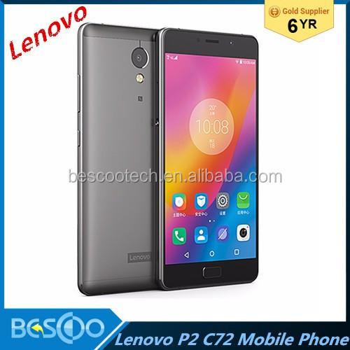 Vibração Lenovo Originais P2 C72 Android 6 0 Octa Núcleo 2 0 Ghz 4g Ram 64g  Rom 5 5 Polegada Ceia Câmera 13mp 5100 Mah Telefones Inteligentes -