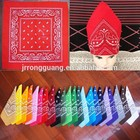 wholesale bandana 100% cotton paisley bandana