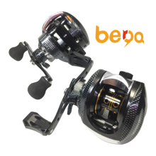 Glatte Dual Bremssystem 17 + 1BB Baitcasting Angeln <span class=keywords><strong>Reel</strong></span> Niedrigen Profil Köder Casting <span class=keywords><strong>Reel</strong></span>