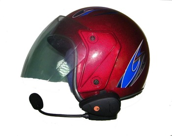 New arrival motorcycle helmet headset bluetooth intercom