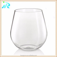 100% tritan unbreakable wine glass shatterproof plastic wineglass beer cup water cup