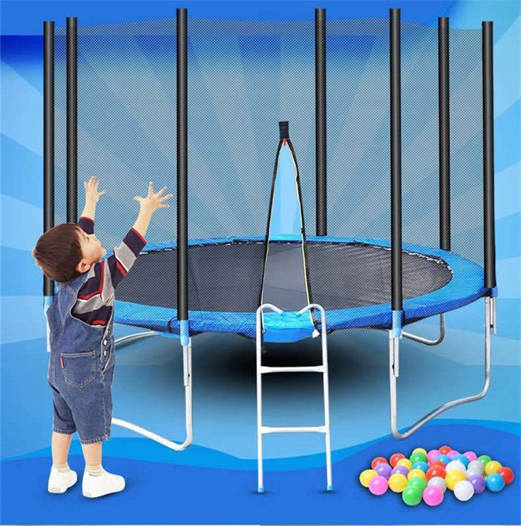 Top Quality Round Gymnastic Outdoor Jumping Elastic Bed Trampoline