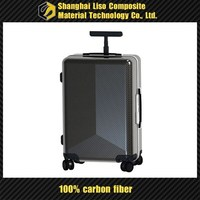 carbon fiber travel suitcase in luggage 20'' 20 inches glossy finish luggage suitcase case