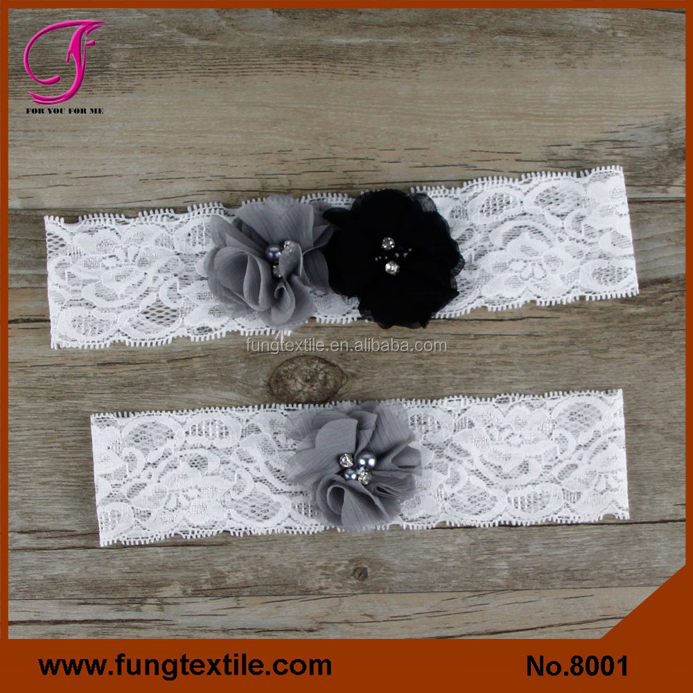 FUNG 8001 Bridal Lace Garter