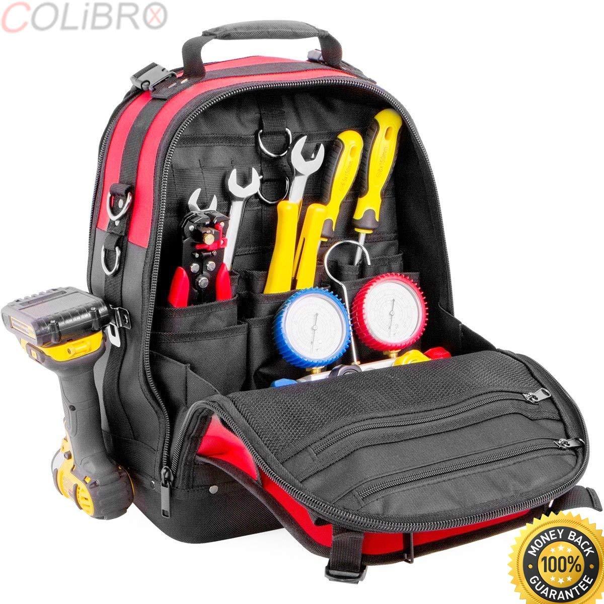 Get Quotations · COLIBROX-xtreme tough Jobsite Backpack Tool Storage Bag  Heavy Duty Construction Book Bag. craftsman 46b6b3e86bcb6