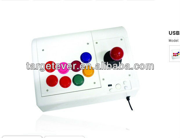 2.4G Wireless arcade stick for PS3/PC