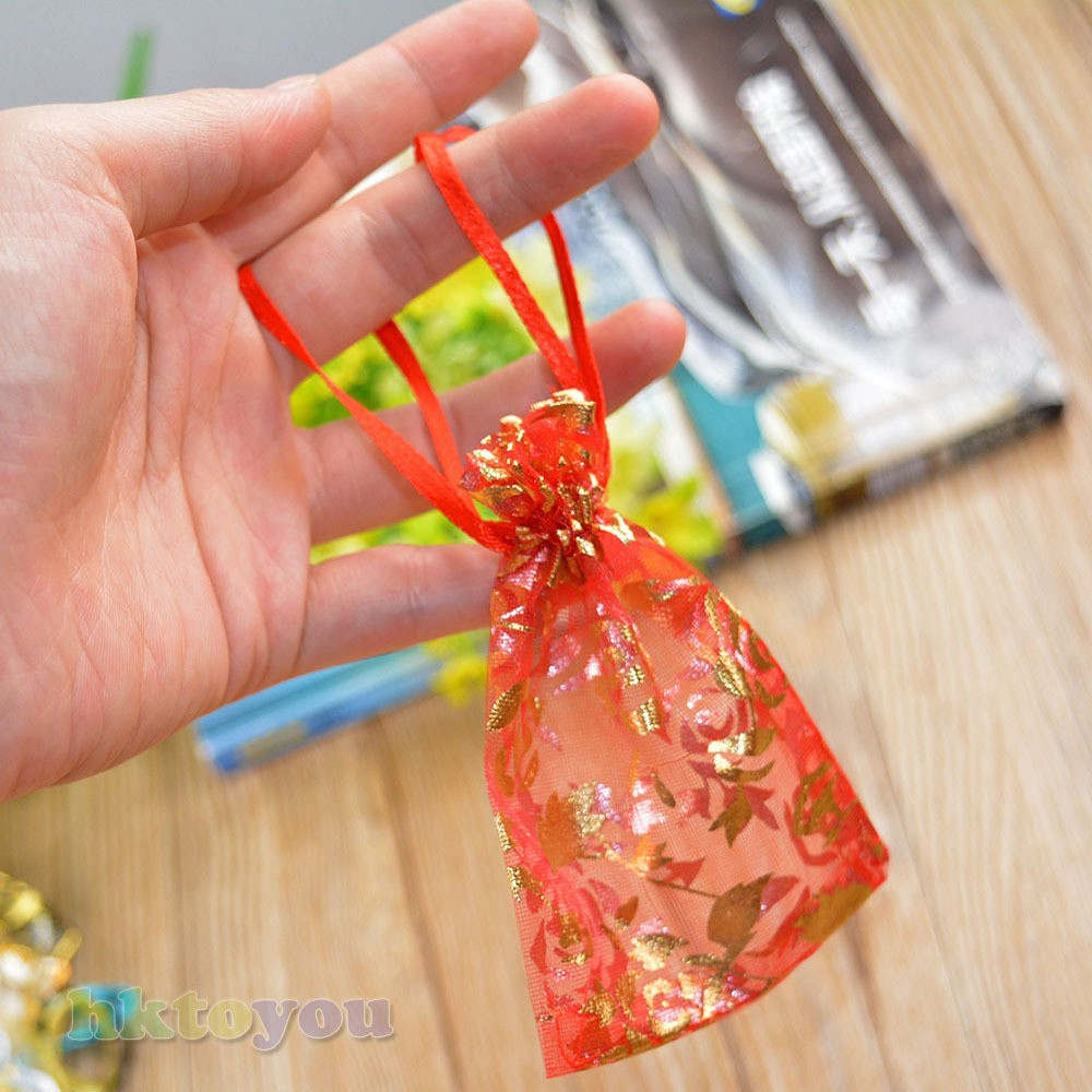hot selling 20 Pcs Party organza gift bag for <strong>packing</strong>