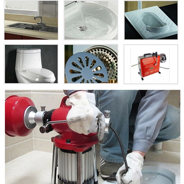 HONGLI D150 factory price hot sale water jet drain cleaning machine