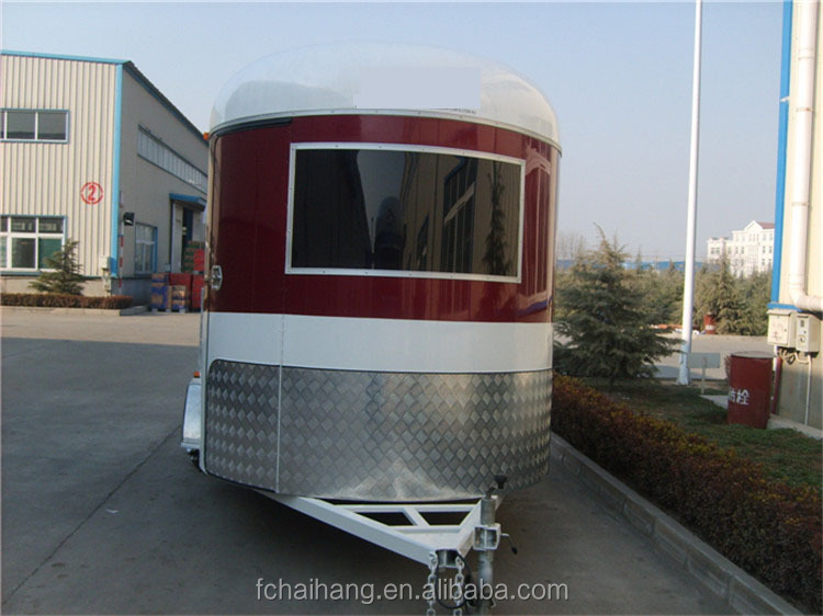 standard angle load 2 horse trailer without cupboard ,competitive China slant load horse trailer