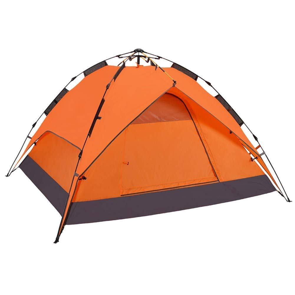 HUIYUE 3-4 People Outdoor Rainproof Tents,Camping Tents,Quick-open Automatic Tents,Portable Picnic Beach Tent-A 220x190x125cm(87x75x49inch)