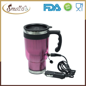 Professional 12v steel electric tea cup