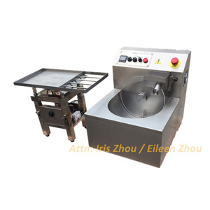 8/15/30 kg per hour Chocolate Melting/Tempering/Coating Machine