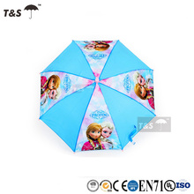 Tianshuo leisure automatic new style top quality cheap custom rain windproof cartoon pattern fold umbrella promotional
