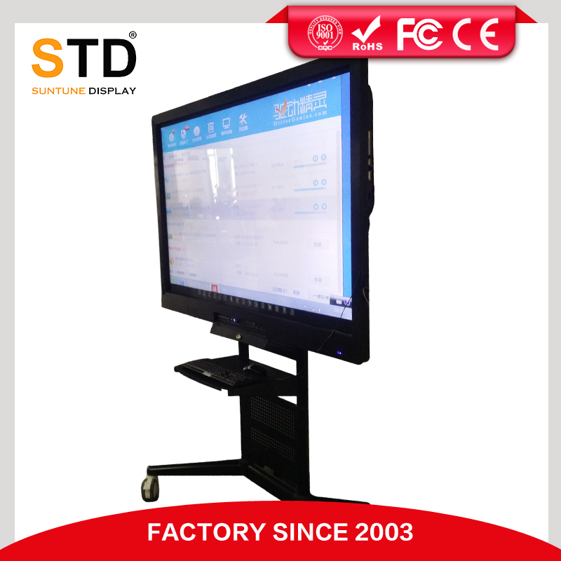 55 inch TFT LCD finger touch portable interactive whiteboard