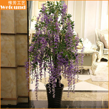 Wefound Wf150912 Artificial Wisteria Bonsai Trees For Home And Wedding Decoration Buy Plastic Wisteria Bonsai Trees Artificial Bonsai For Home Decoration Artificial Bonsai Trees For Sales Product On Alibaba Com