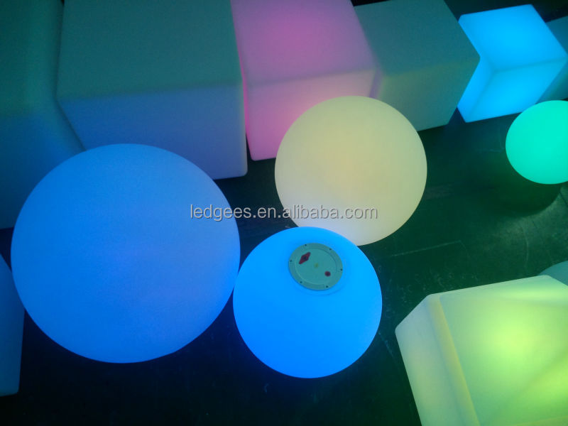 color changing mood led light ball/decorative balls