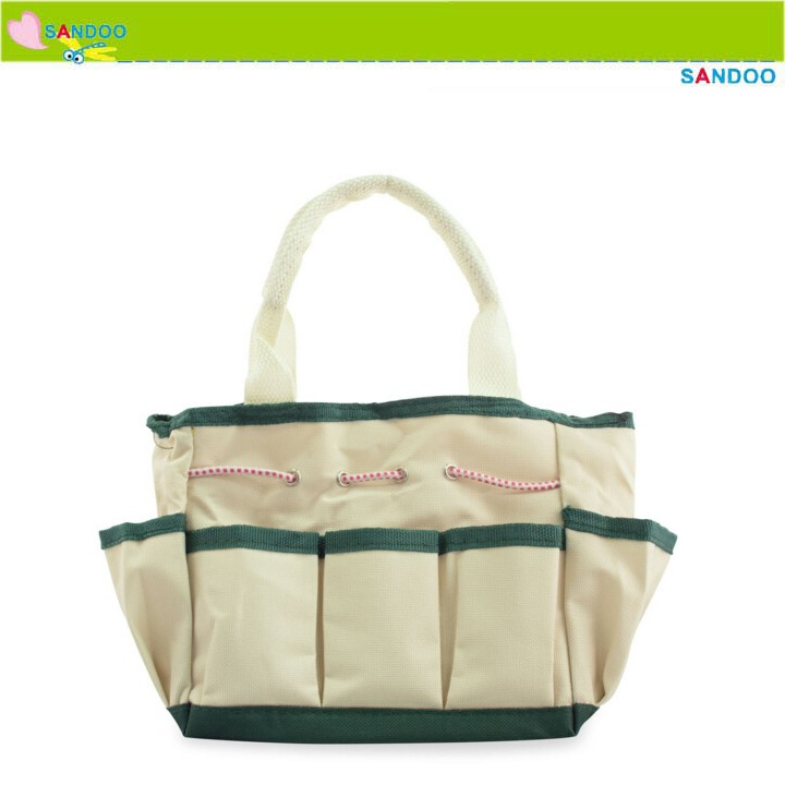 Alibaba china wholesale small canvas tote garden tool bag for Small garden tool carrier