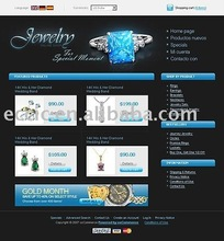 Ideal Website Design and Development for Jewelry
