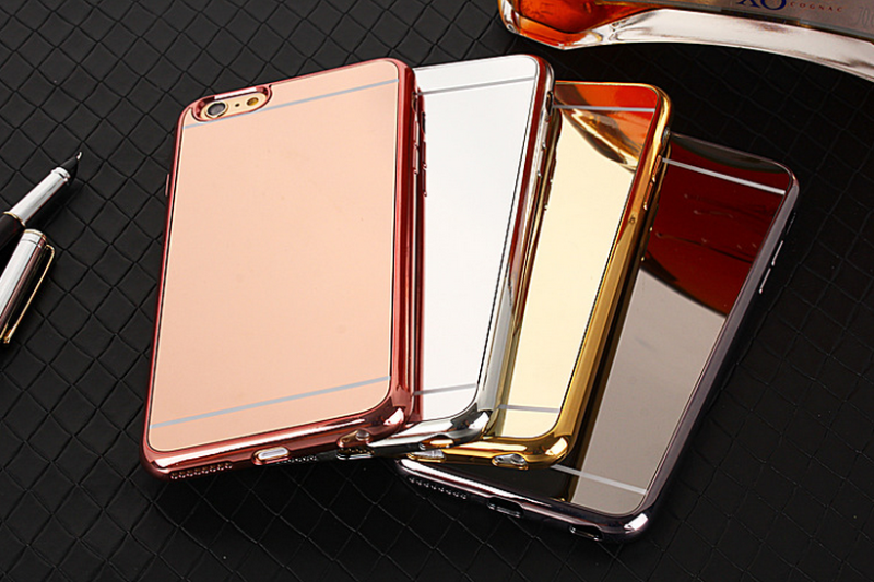 Fast delivery electroplating aluminum case for iphone 4