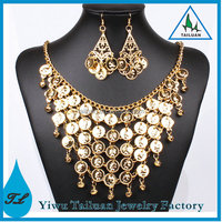 Wholesale Costume Jewelry Gold Coin Indian Dance Jewelry
