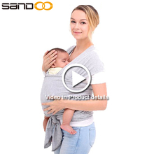 China new design hot selling baby carrier,natural cotton baby sling wrap