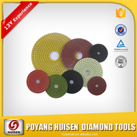 HUISEN diamond wet polishing pad for granite