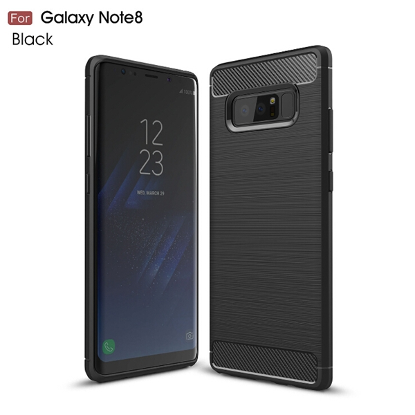 Wholesale high quality Brush TPU Phone Case for S8