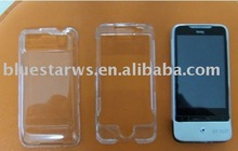 factory price transparent crystal case for HTC Legend